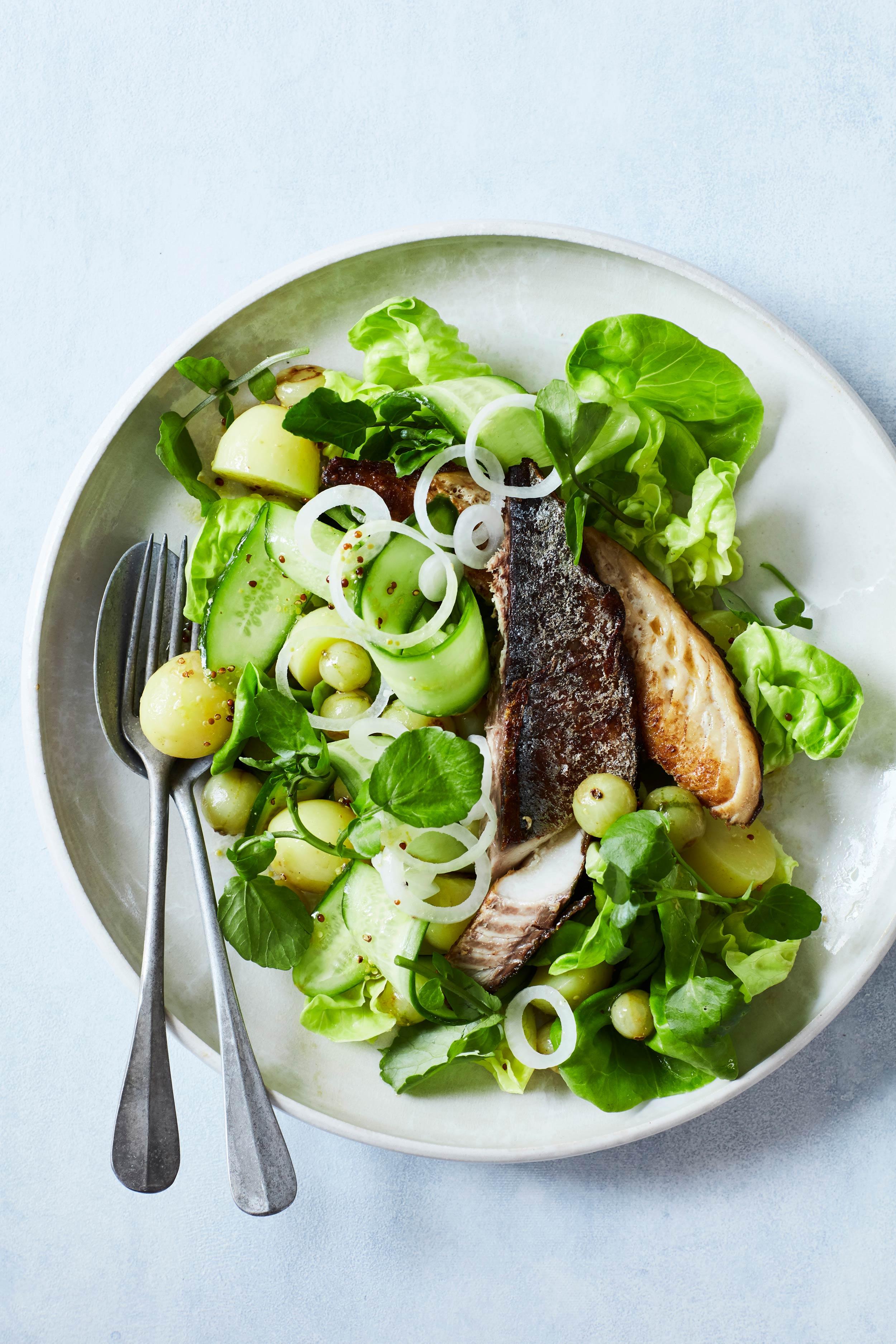 Salat-med-stikkelsbaer-og-grillet-makrel_@StineChristiansen